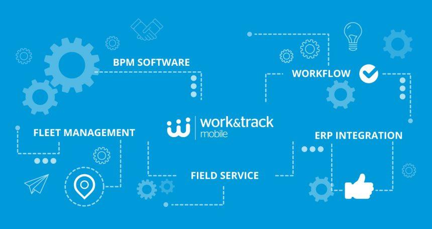 Work&Track Mobile FSM a platforma vozového parku