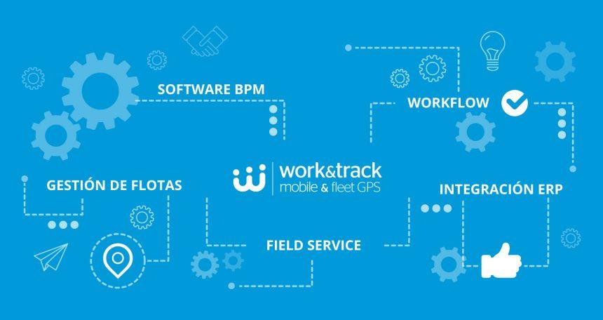 Work&Track La Plataforma FSM y de Gestión de flotas
