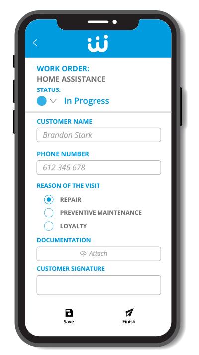 Formulare design app