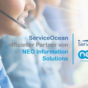 NEO Information Solutions und ServiceOcean Produktpartner