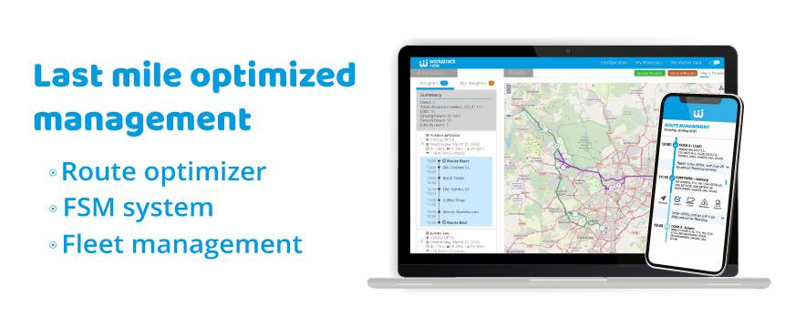 Last mile optimized delivery management