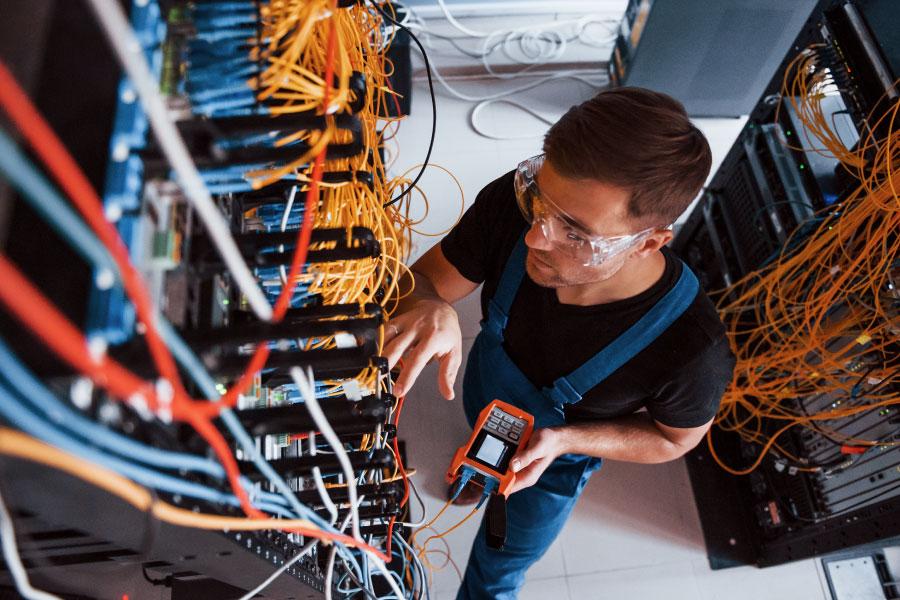 Telecom technical services software